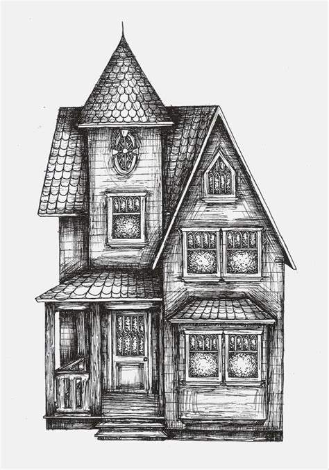 victorian house drawings victorian house by sarah3318 on deviantart