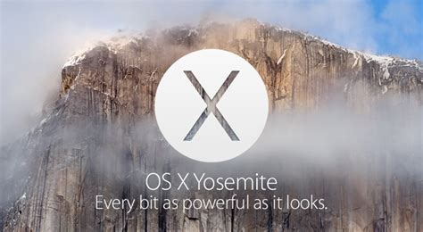 Mac Os X Yosemite os x yosemite everything we macrumors