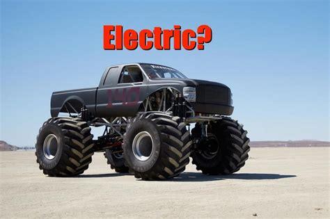 bigfoot electric truck bigfoot ev a truck that runs on electricity