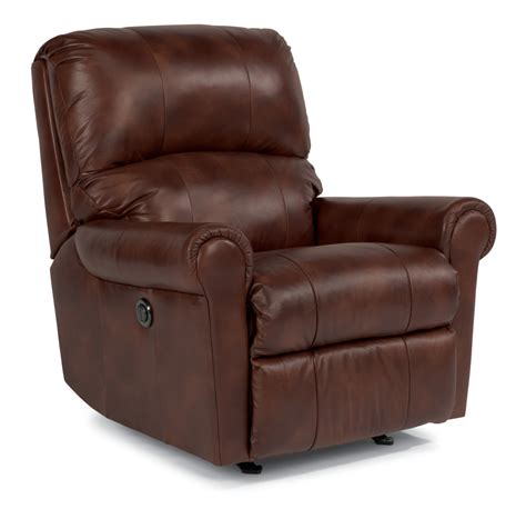 Flexsteel Big Recliner by Leather Archives Jasen S Furniture Since 1951