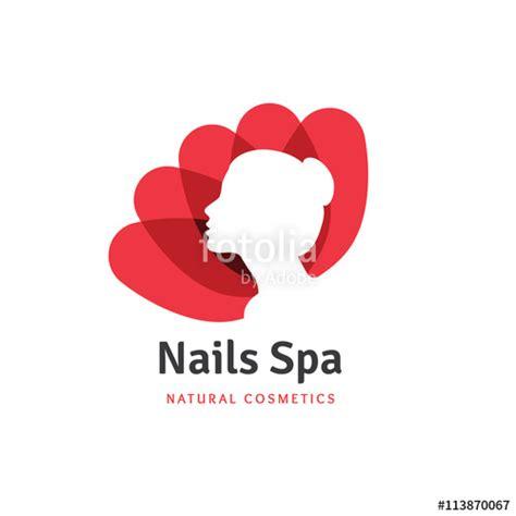 lotus nail and spa quot nails spa logo logo nail logo lotus logo flower