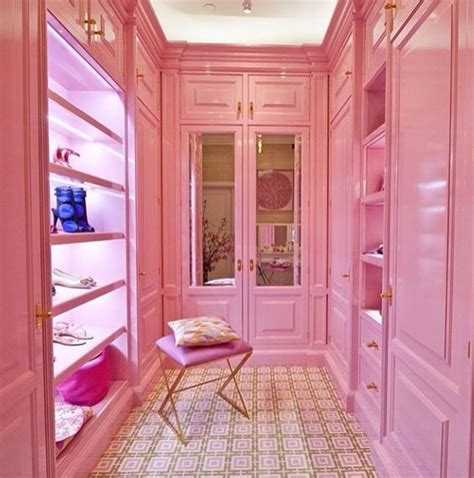 Pink Closet by 8 Dazzling Pink Interiors You To See Daily Decor