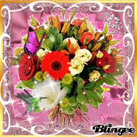immagini animate di fiori immagine mazzo di fiori 95228521 blingee