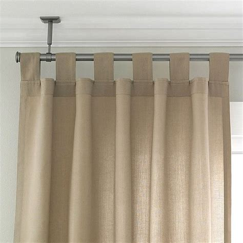 ceiling curtain rods ceiling mount curtain rod ideas homesfeed