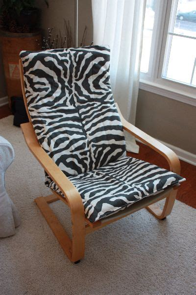 poang rocking chair cover poang chair cover tutorial size new class ideas