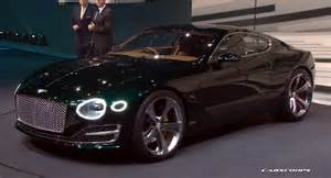 Bentley S Bentley S New Exp 10 Speed 6 Sports Coupe Concept Hints At