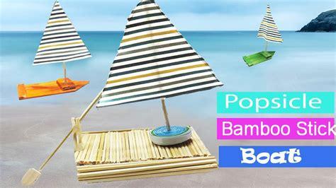 moana boat popsicle sticks popsicle stick boat crafts for kids best cool craft ideas