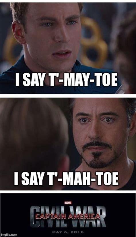 Toe Memes - marvel civil war 1 meme imgflip