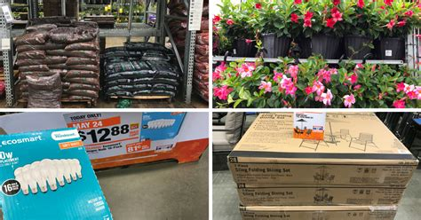 home depot memorial day sale deals on mulch plants