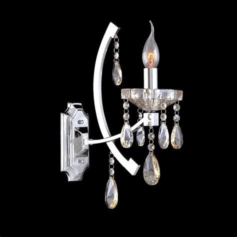 wall lights interesting crystal wall sconce 2017 ideas
