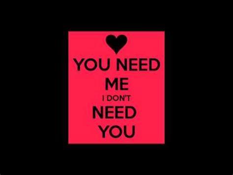 you need me i don need you full version lyrics ed sheeran you need me i don t need you cover youtube