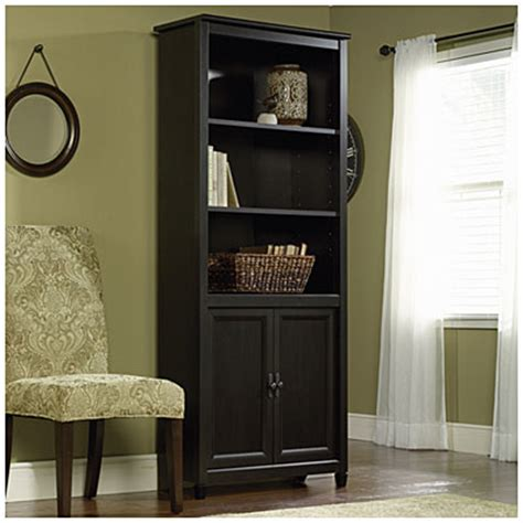 library bookcase with doors big lots