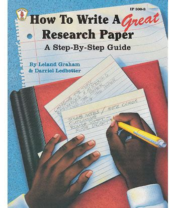 research paper step by step guide step by step guide for writing research paper