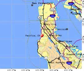 pacifica california map pacifica california ca 94044 profile population maps