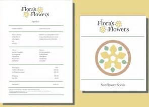 florist invoice template wedding flower invoice template studio design