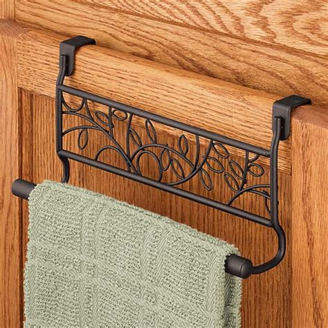 kitchen cabinet towel rack towel rack for kitchen cabinet kitchen cabinet door