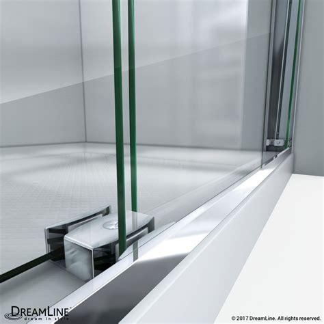 Bypass Shower Doors Frameless Essence H Frameless Bypass Shower Door Dreamline