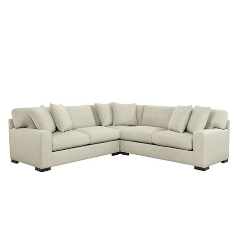 del mar sectional del mar corner sectional 3 pc relaxed del mar