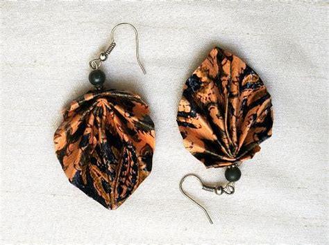 Paper Earrings Handmade Paper Jewellery - paper jewellery paper jewellery by 10 fingers paper