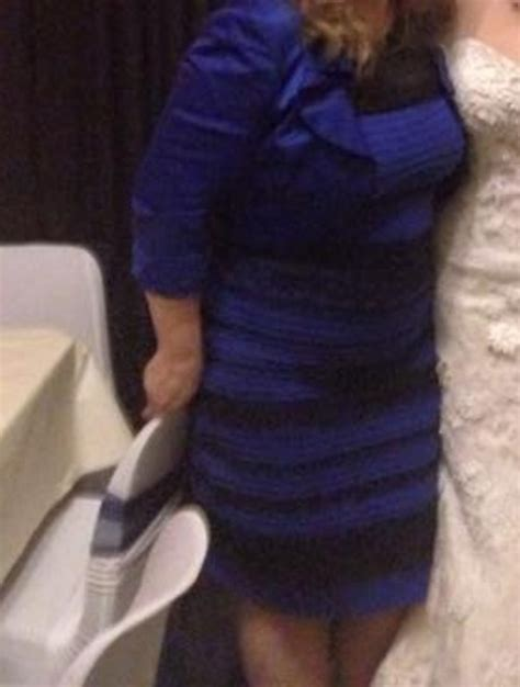 the dress is blue and black says the girl who saw it in the dress memes have arrived larry brown sports