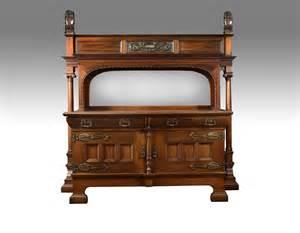 antique walnut sideboard large carved walnut mirrored back sideboard antiques atlas