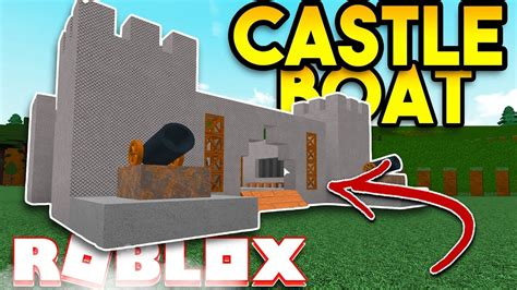 how to make a boat roblox epic castle boat roblox build a boat for treasure