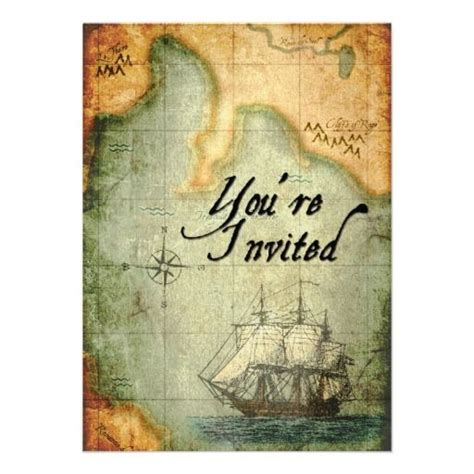treasure map invitation template 20 best treasure map invitation template images on