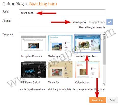 membuat blog net membuat blog di blogger com farid zainalfuadi net