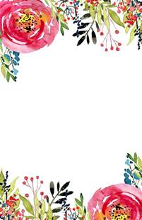 flower templates free floral invitation template free printable paper trail