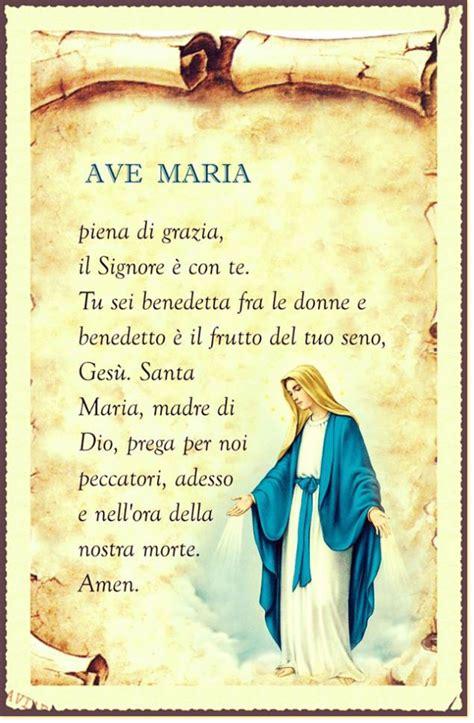 ave testo italiano ave in italiano leggoerifletto saints