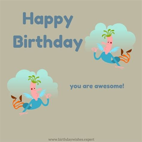 Happy Birthday Awesome Wishes Happy Birthday You Are Awesome