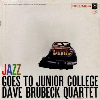 Lp Spiral dave brubeck quartet jazz goes to junior college vinyl