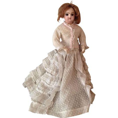 bisque fashion doll antique jumeau bisque shoulder fashion doll circa