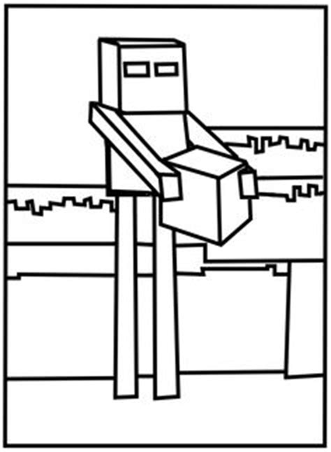 minecraft snowman coloring page 1000 images about minecraft on pinterest minecraft