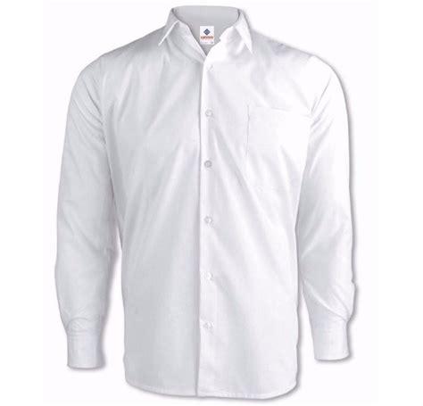 imagenes de camisas blancas para mujeres camisa blanca de hombre algodon poliester manga larga