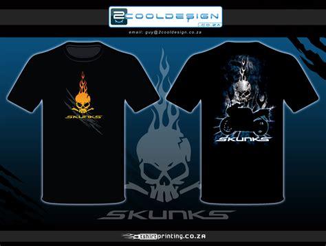 design t shirt bikers skunks biker tshirt design by guy tasker 2cooldesign