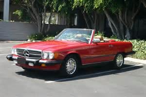 1987 Mercedes 560sl 1987 Mercedes 560sl Roadster 102052