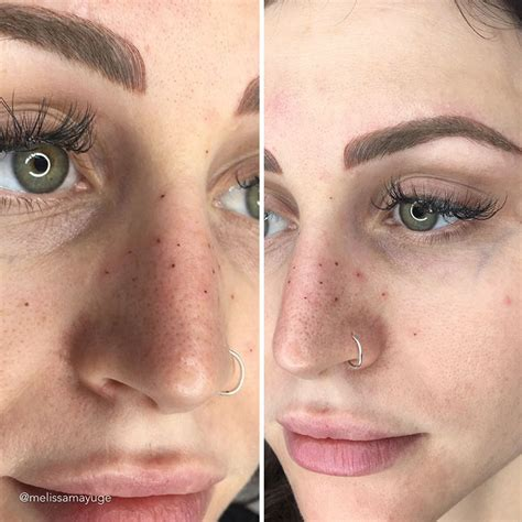 tattoo when you have freckles tattooing freckles on your face is the new beauty craze