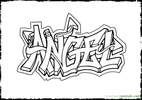printable coloring pages awesome name graffiti coloring pages for adults az coloring pages