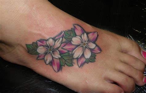flower foot tattoos designs flower tattoos designs ideas and meaning tattoos for you