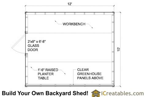 greenhouse floor plans wood greenhouse plans 10x12 greenhouse shed plans