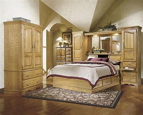 masterpiece oak bedroom pier group furnishings bed wall oak bedroom furniture