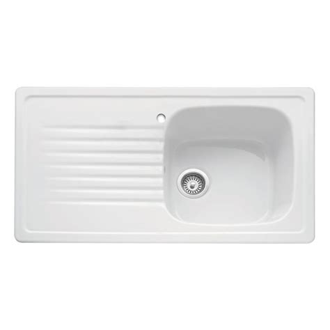 Ceramic Inset Sink by Bluci Ashton 100 Ceramic Inset Kitchen Sink Sinks Taps