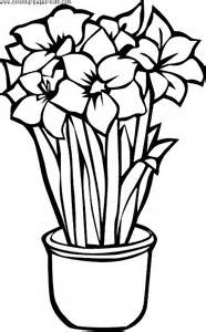 Free Printable Flower Coloring Pages sketch template