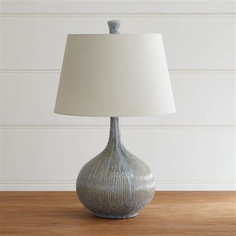 Shaye Onion Lamp   Crate and Barrel