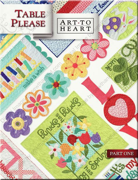Html Pattern Plz | table please sewing pattern book art to heart