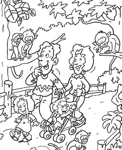 dibujos para colorear zoologico dibujos de zoologico para colorear parte 3