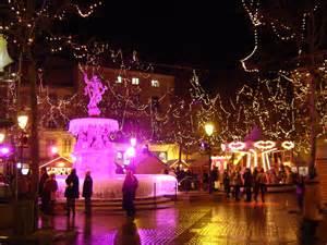 Carcassonne noel 224 carcassonne place carnot la nuit cr 233 dit photo omt