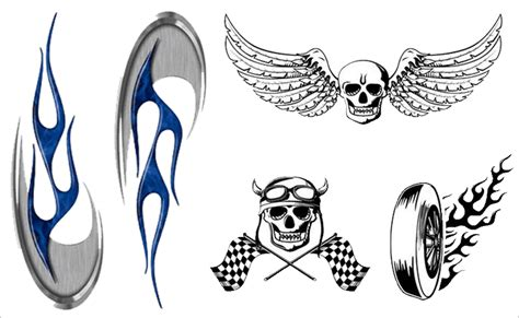 Helm Stickers Motor by Funny Motorcycle Stickers Motorcycle Helmet Stickers