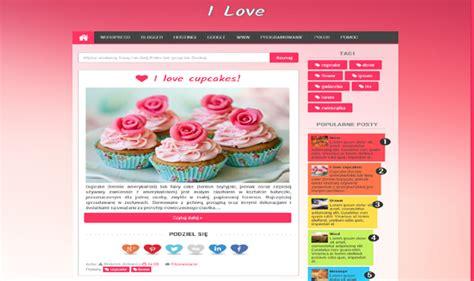 love templates for blogger i love responsive blogger template